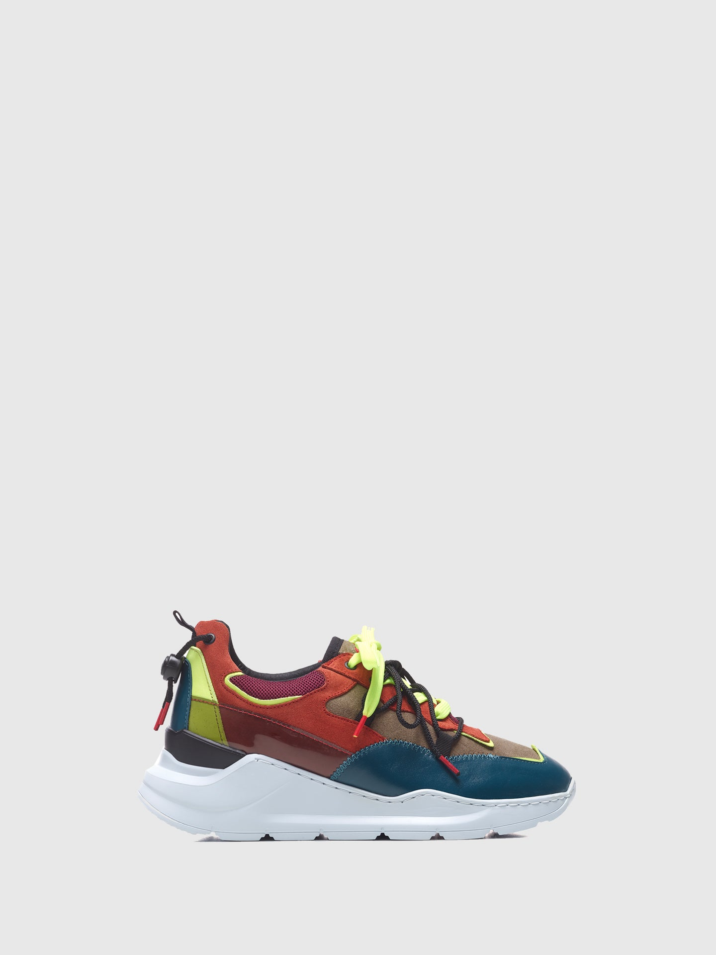 Nobrand Multicolor Lace-up Trainers