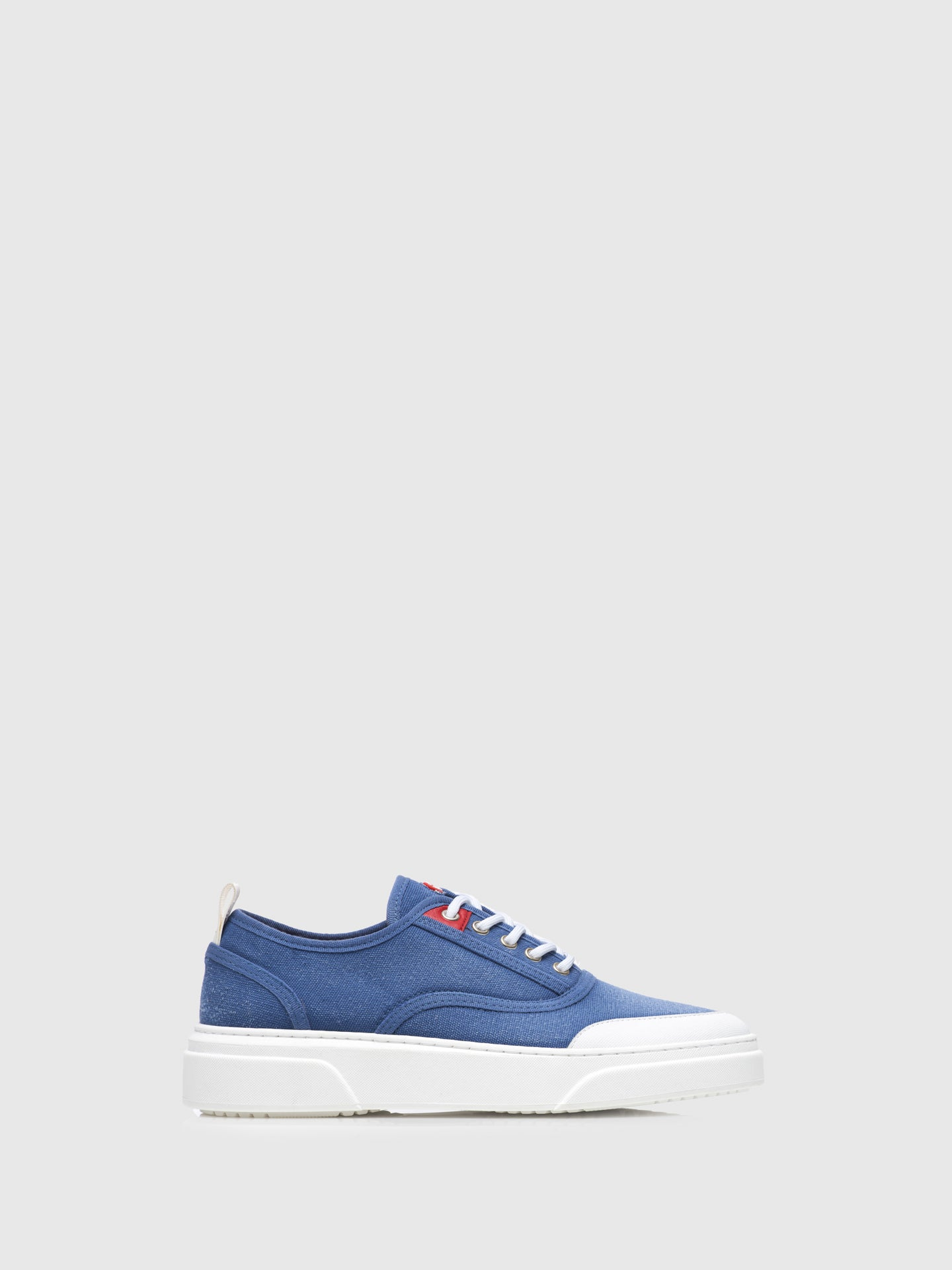 Nobrand Blue Lace-up Trainers