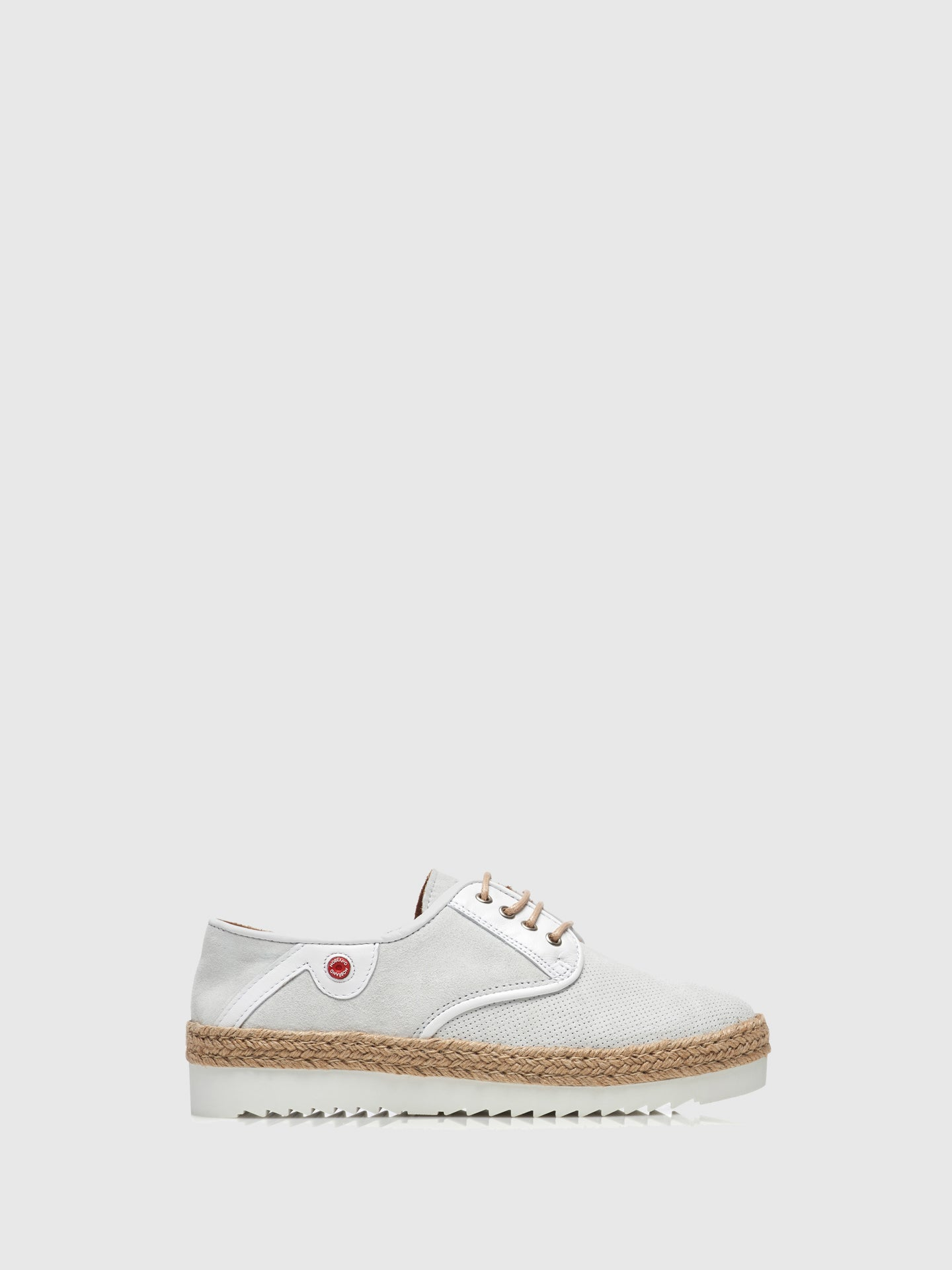 Nobrand White Flat Shoes