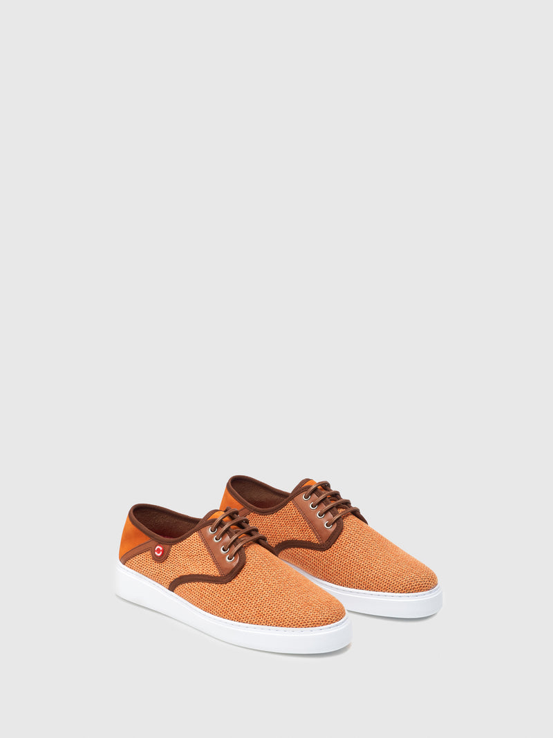 Nobrand Orange Flat Shoes