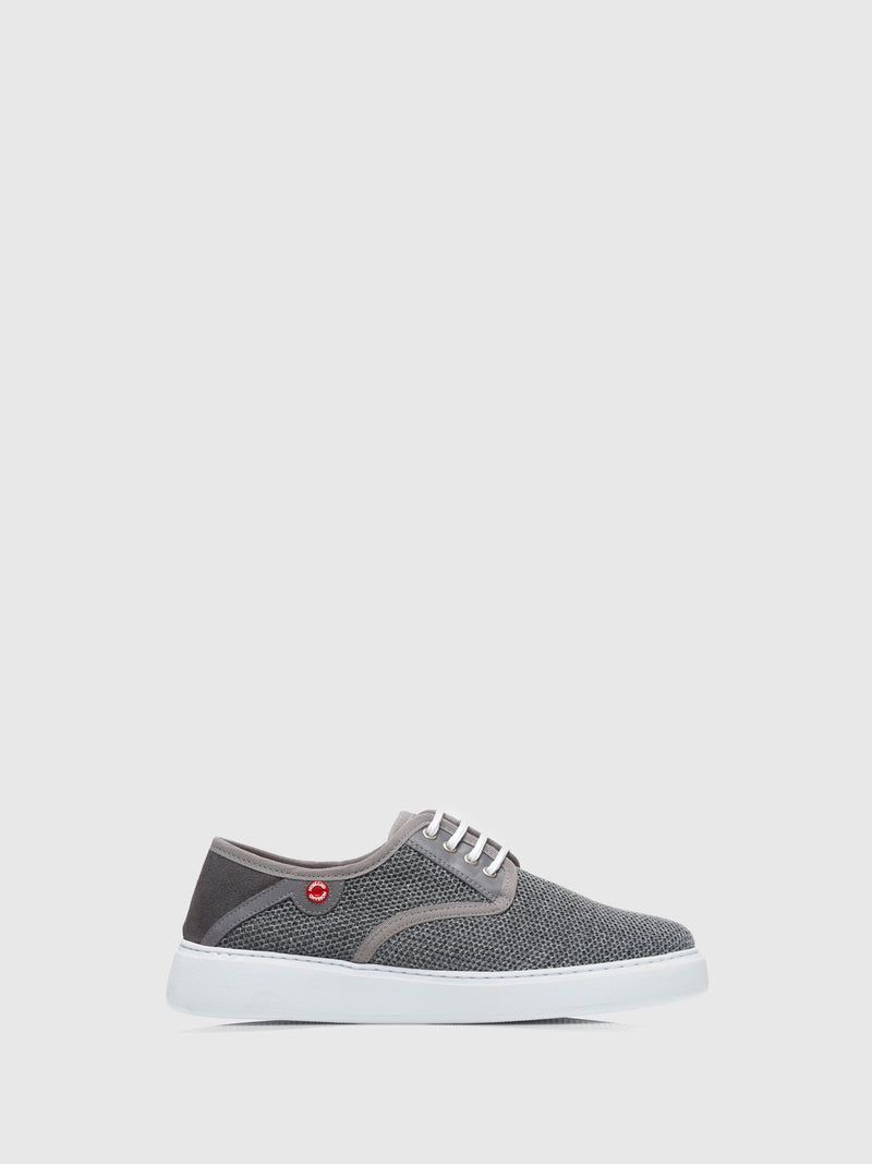 Nobrand Gray Flat Shoes