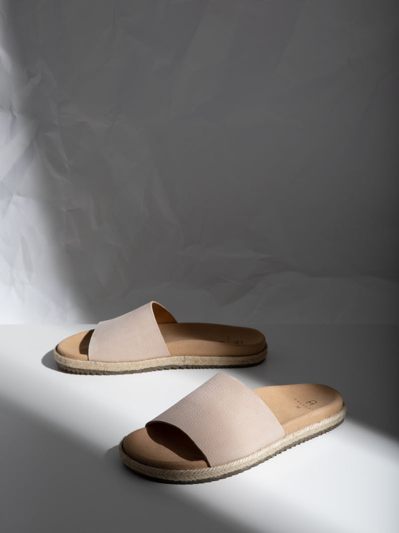 Only2me Wheat Open Toe Mules