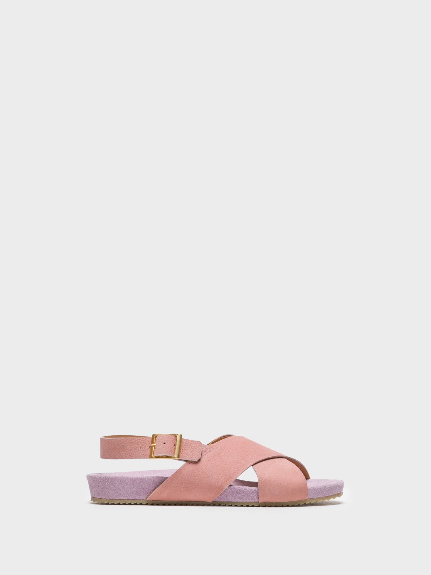 Only2me Pink Buckle Sandals
