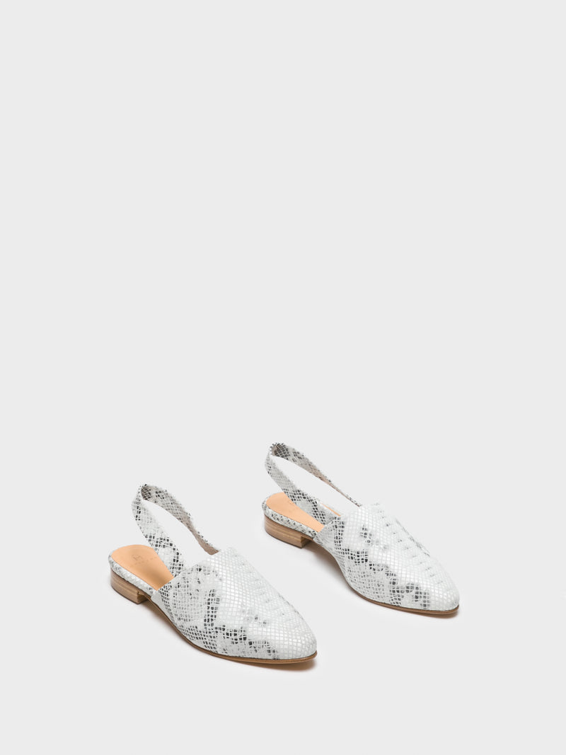 Only2me Multicolor Sling-Back Mules
