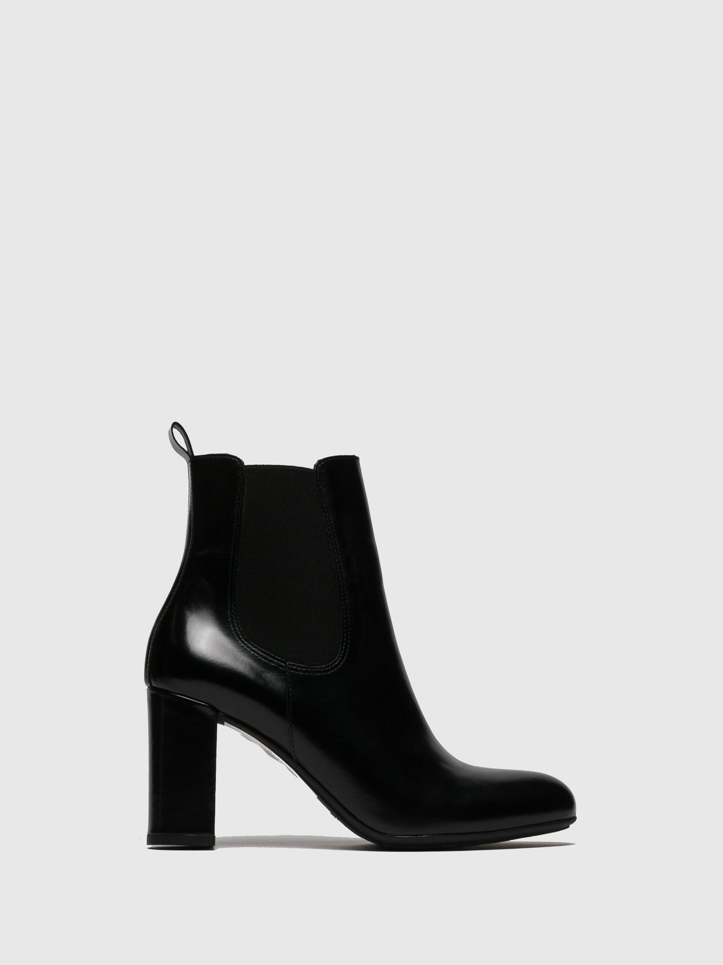 Only2me Black Elasticated Ankle Boots