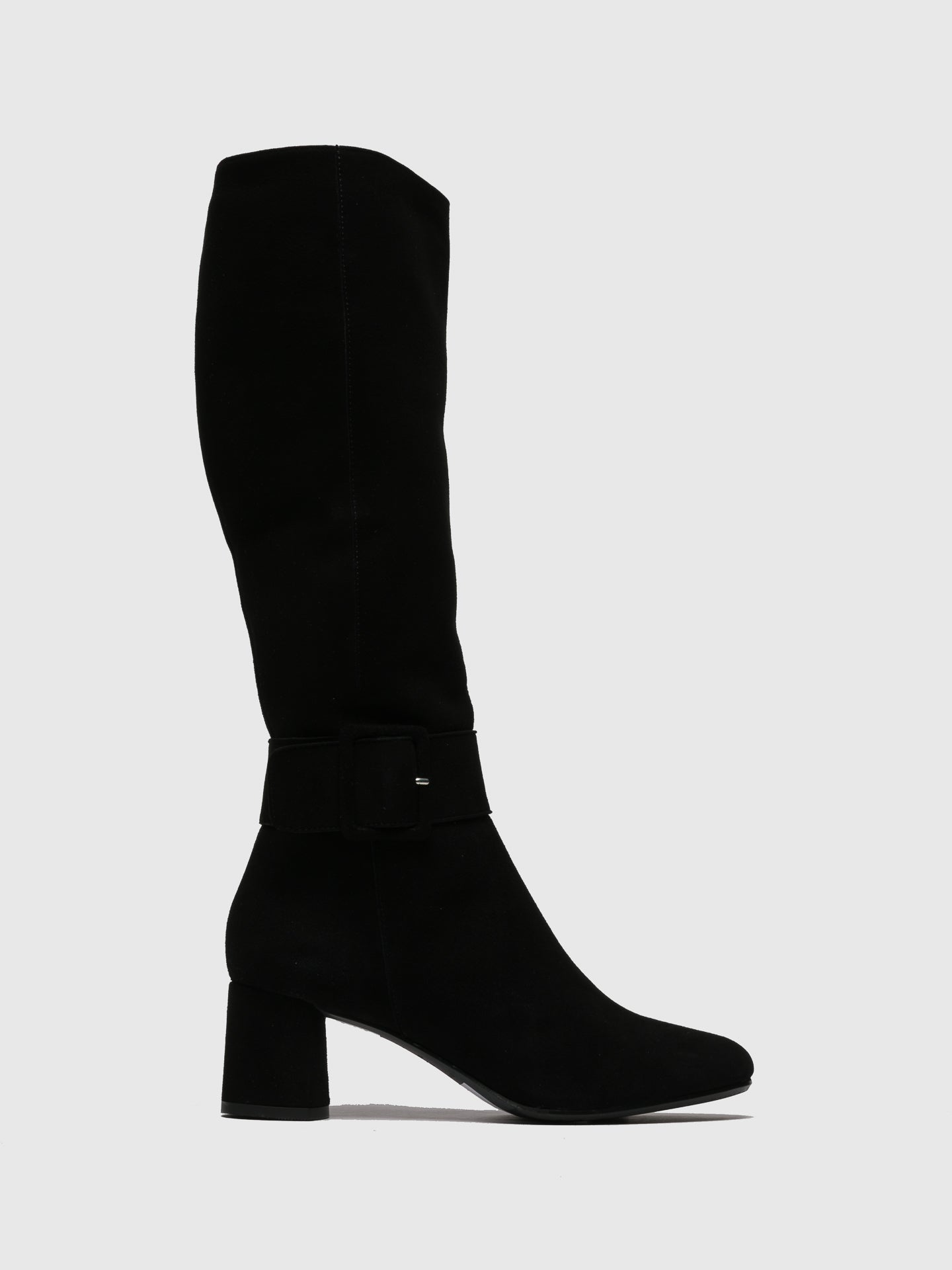 Only2me Black Knee-High Boots