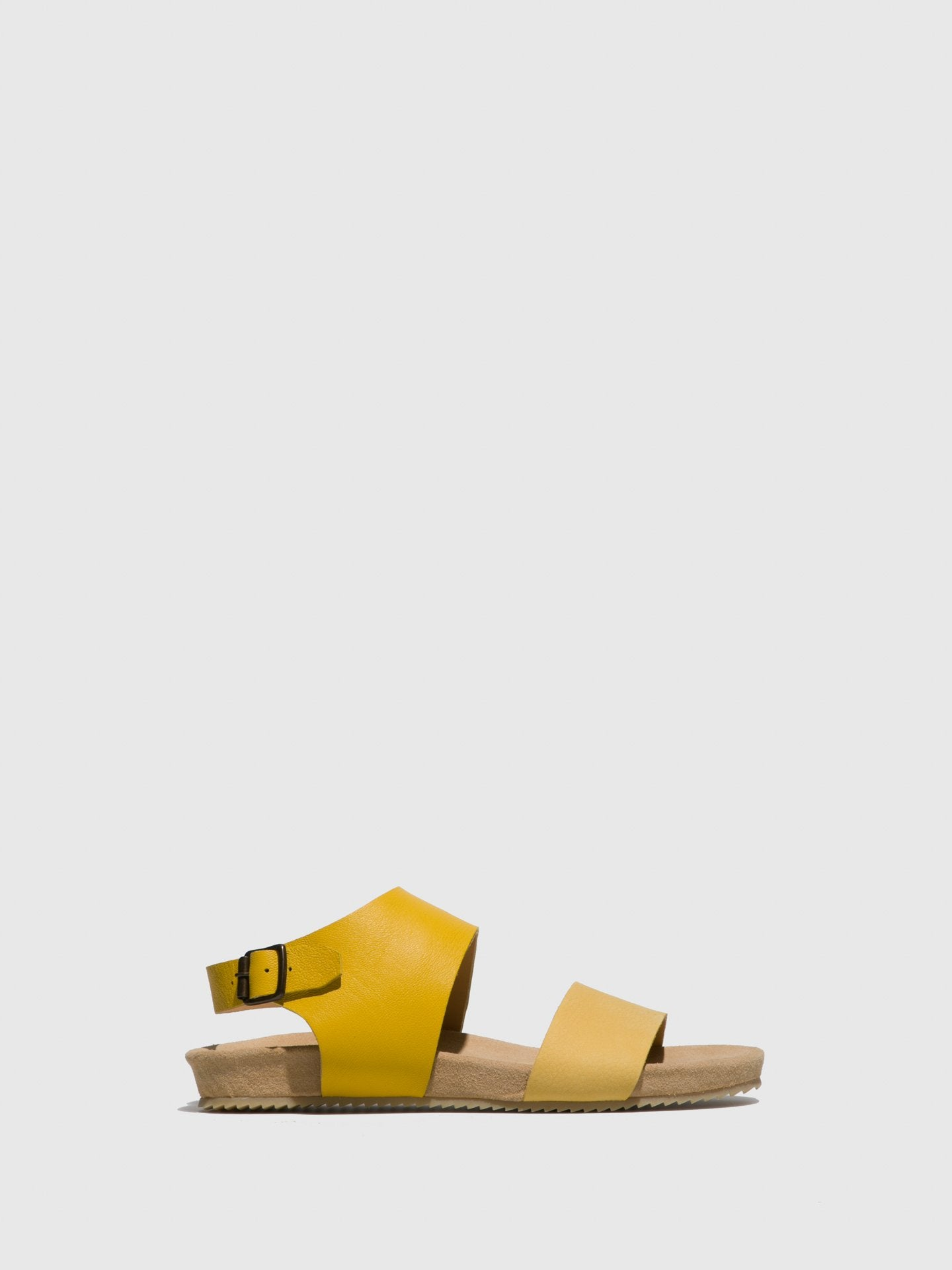 Only2me Yellow Sling-Back Sandals