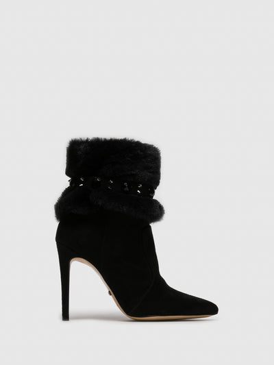 PARODI PASSION Black Stiletto Boots