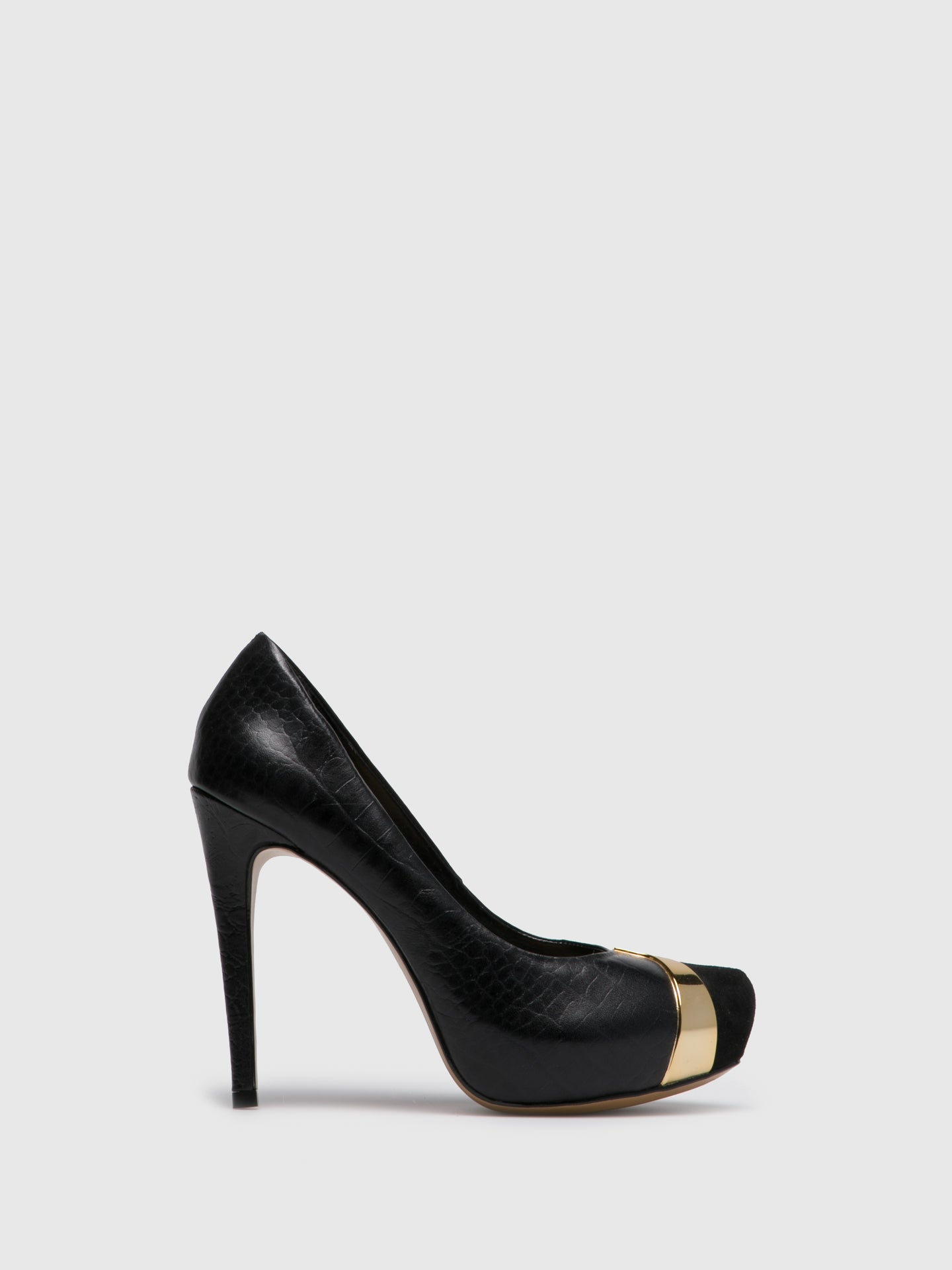 PARODI PASSION Black Stiletto Shoes