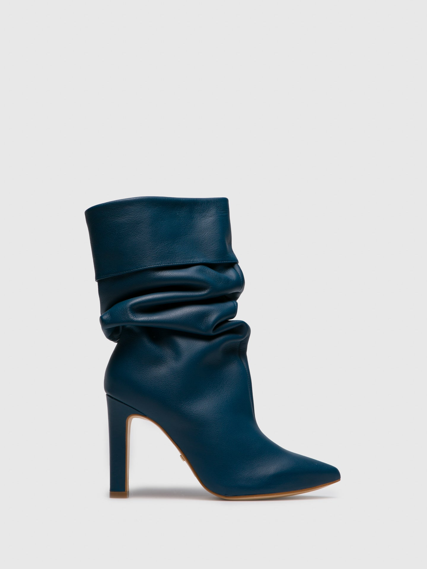 PARODI PASSION Navy Knee-High Boots