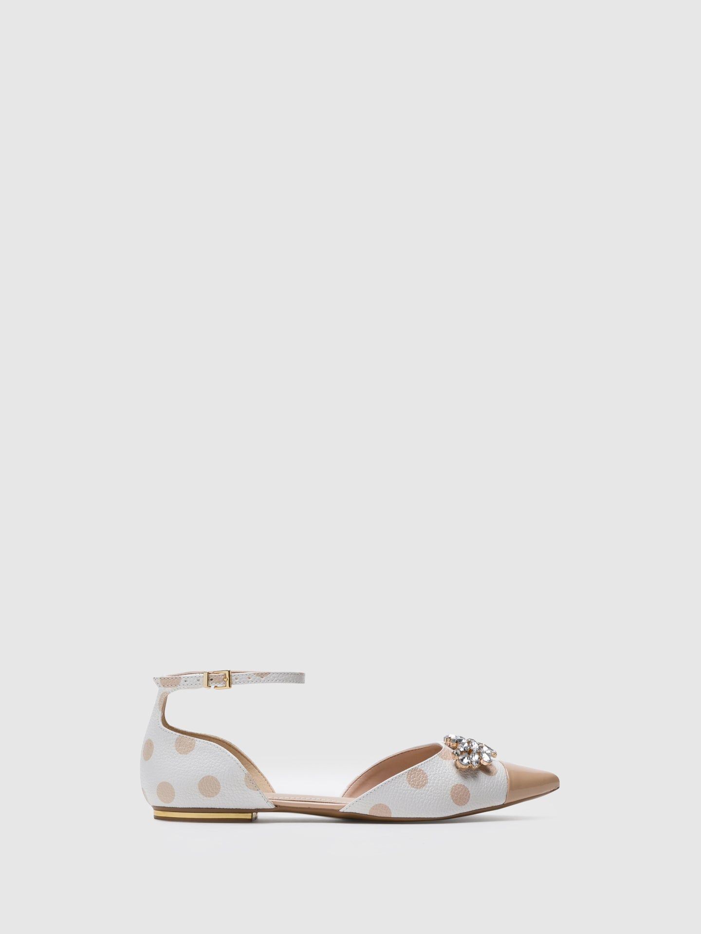 PARODI PASSION Multicolor Buckle Ballerinas