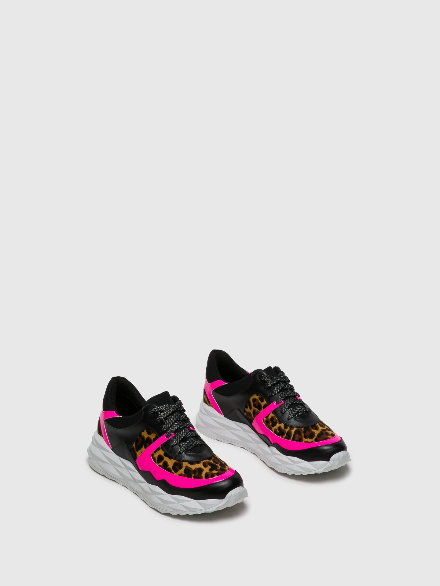 Parodi Passion Multicolor Lace-up Trainers