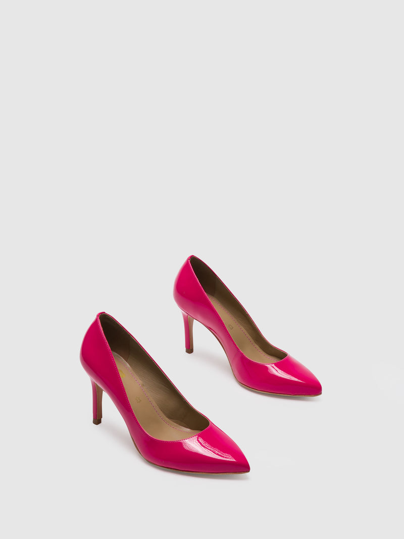 HotPink Pointed Toe Shoes