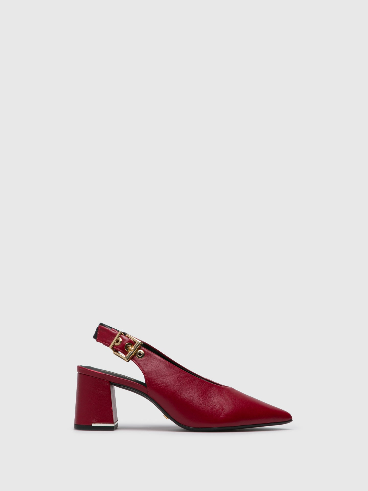 PARODI PASSION Red Pointed Toe Shoes