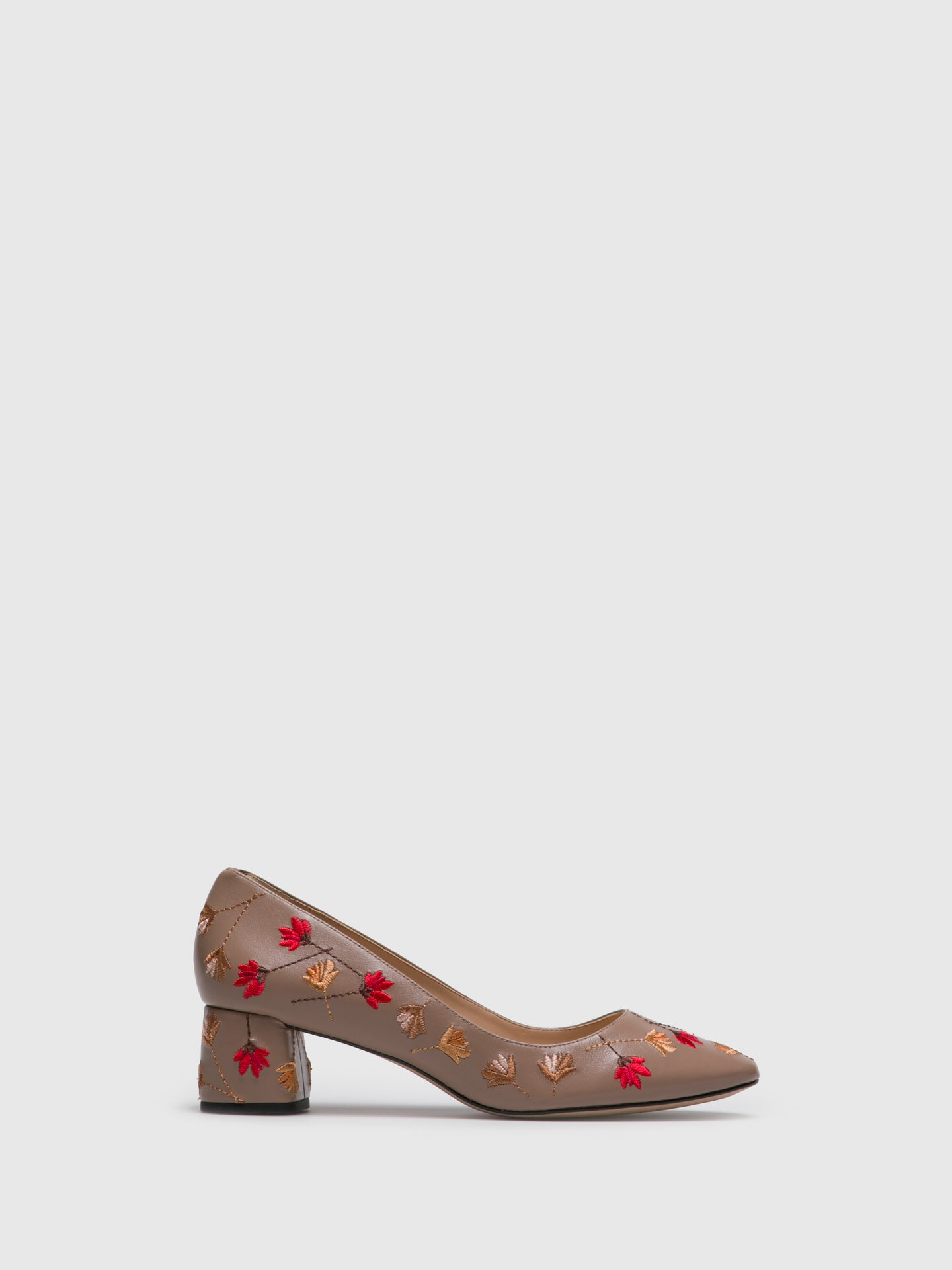 PARODI PASSION Beige Round Toe Shoes