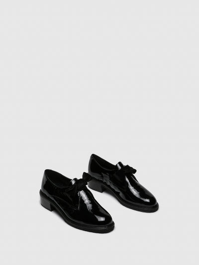 PARODI SUNSHINE Black Derby Shoes