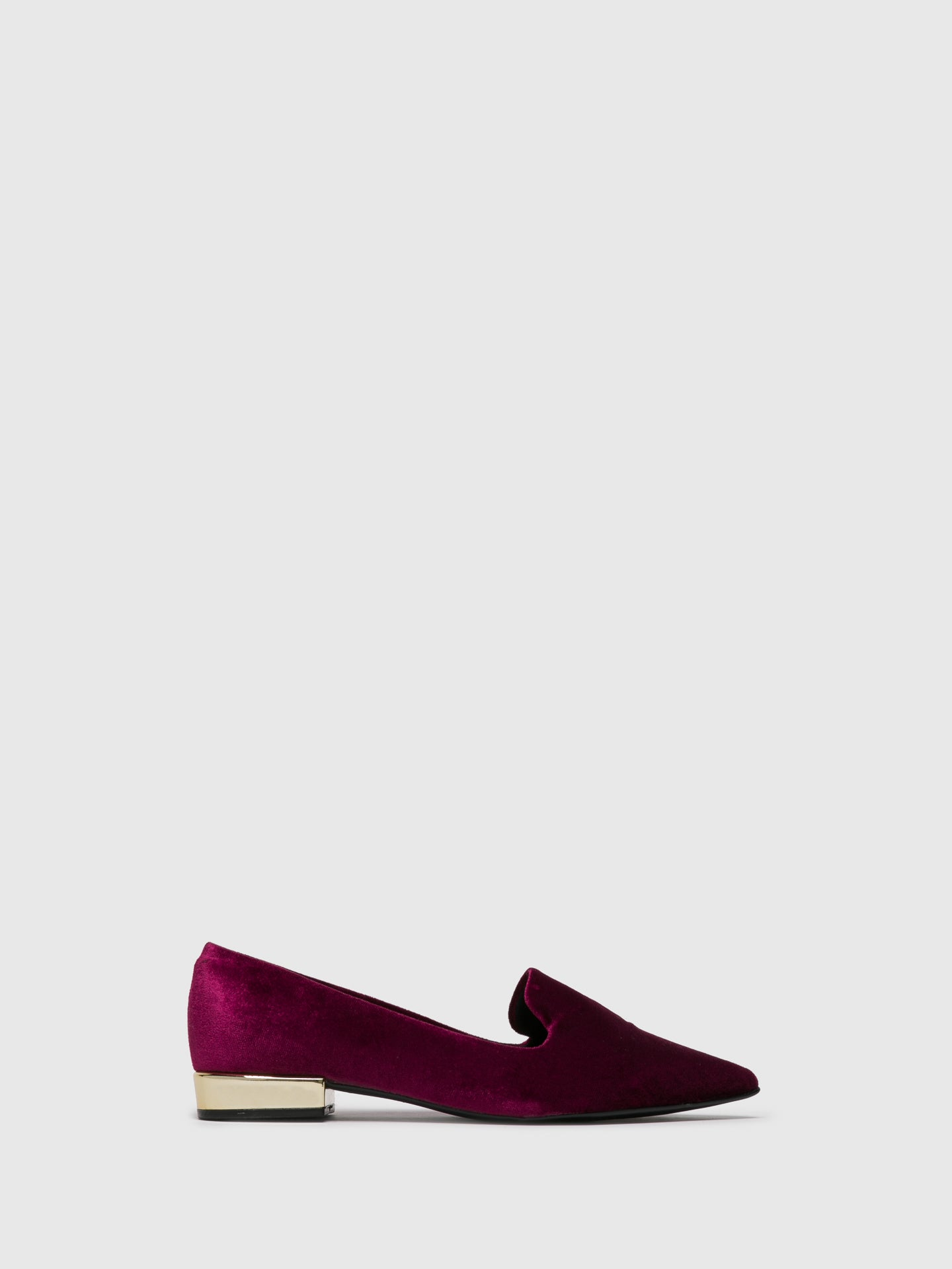 PARODI SUNSHINE DarkRed Pointed Toe Ballerinas