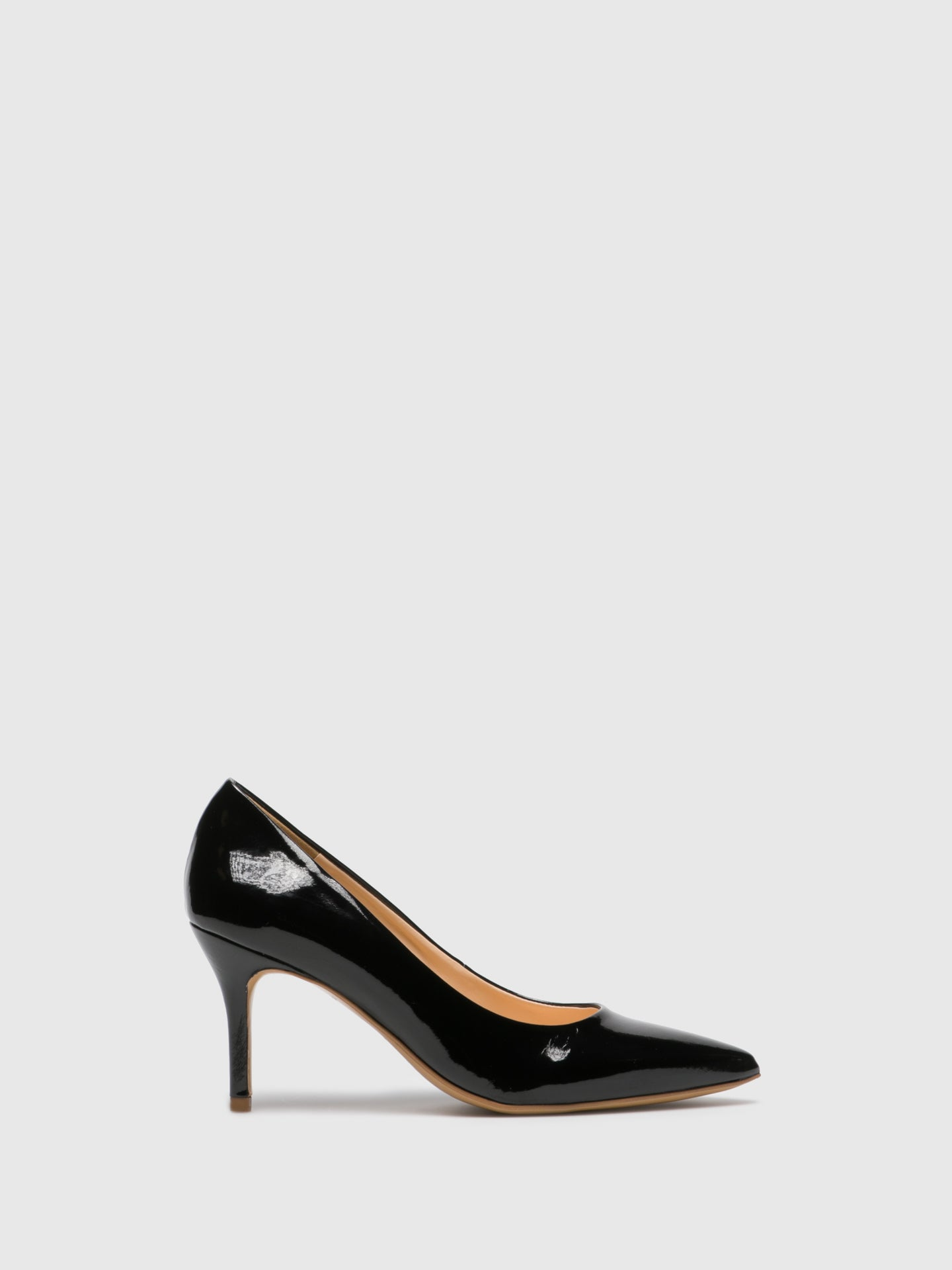 PATRICIA CORREIA Black Pointed Toe Shoes