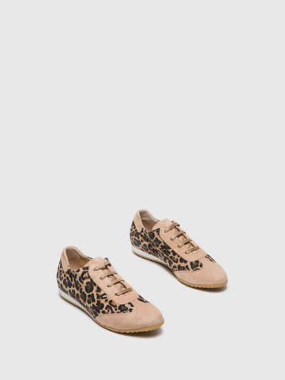 Perlato Multicolor Lace-up Trainers