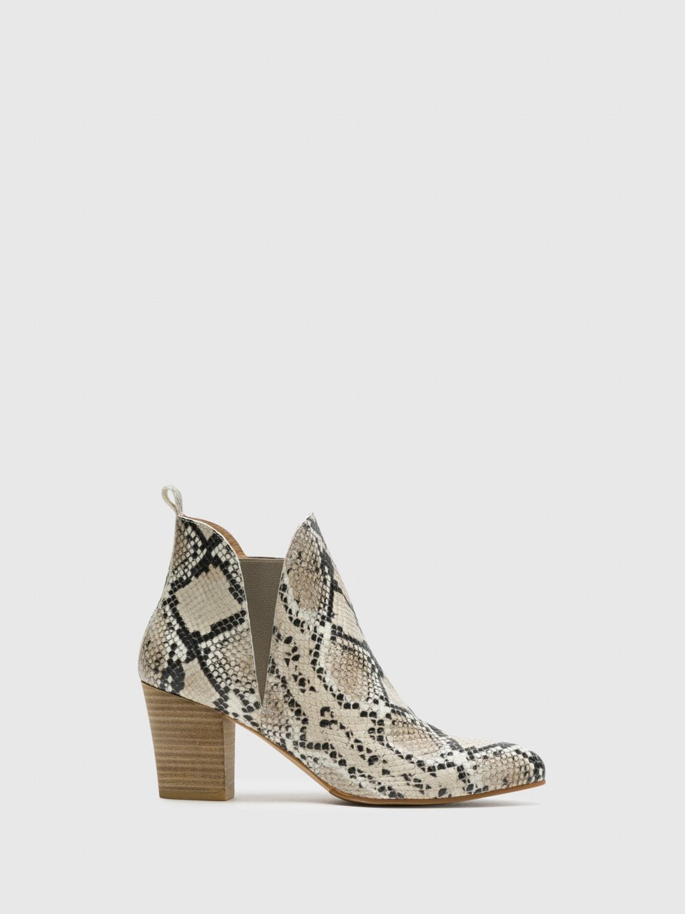 Perlato Multicolor Elasticated Ankle Boots