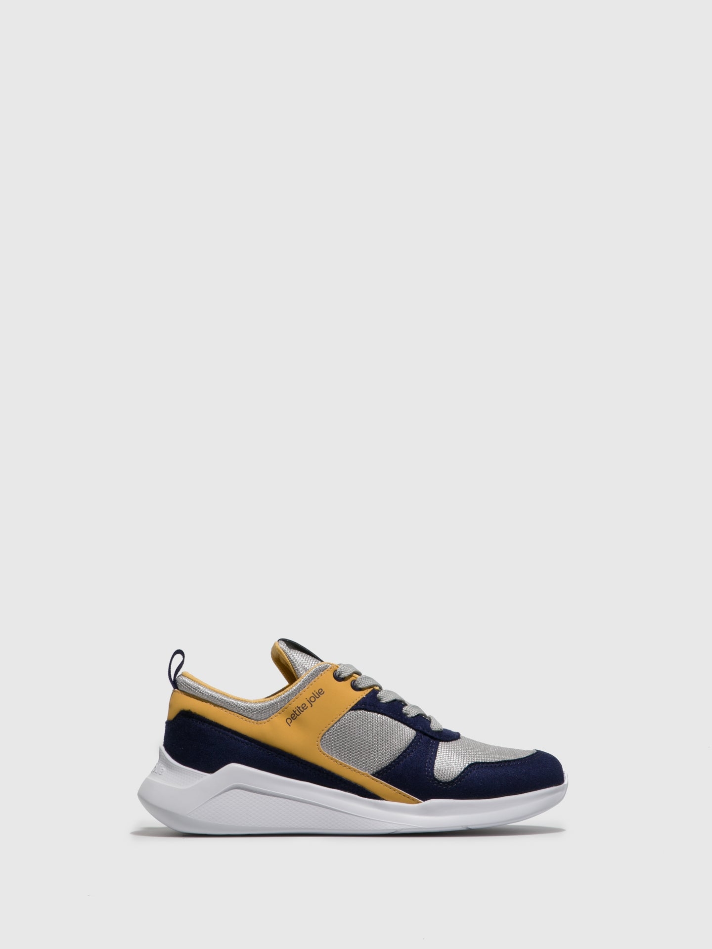 PETITE JOLIE by PARODI Navy Lace-up Trainers