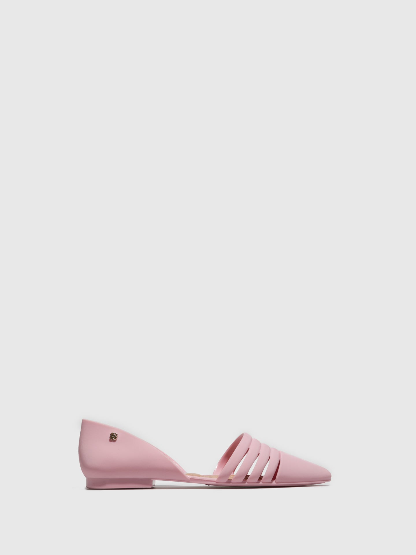 PETITE JOLIE by PARODI Pink Pointed Toe Ballerinas