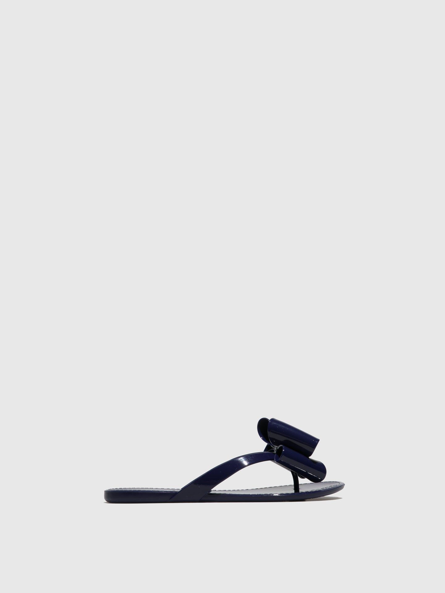 PETITE JOLIE by PARODI Purple Beach Flip-Flops