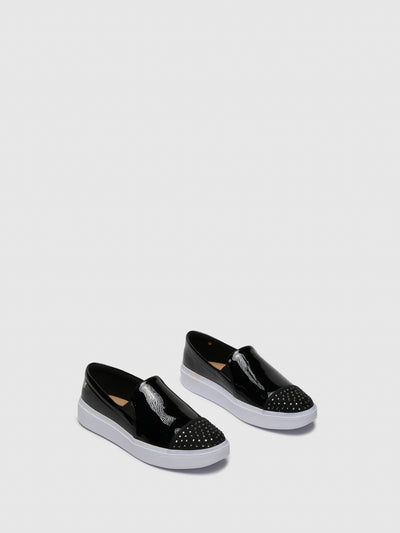 PETITE JOLIE by PARODI Black Slip-on Trainers