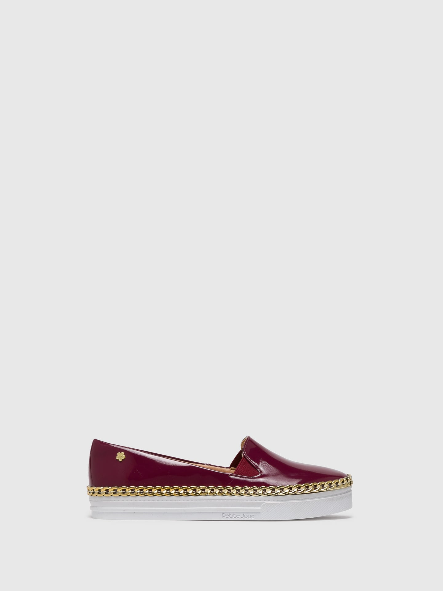 PETITE JOLIE by PARODI DarkRed Slip-on Trainers