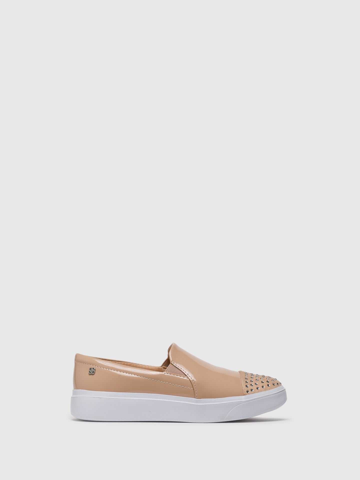 PETITE JOLIE by PARODI BlanchedAlmond	 Slip-on Trainers