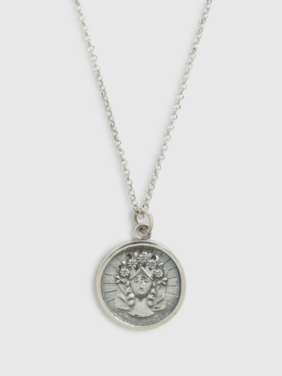 Portugal Jewels Silver Pendant Necklace
