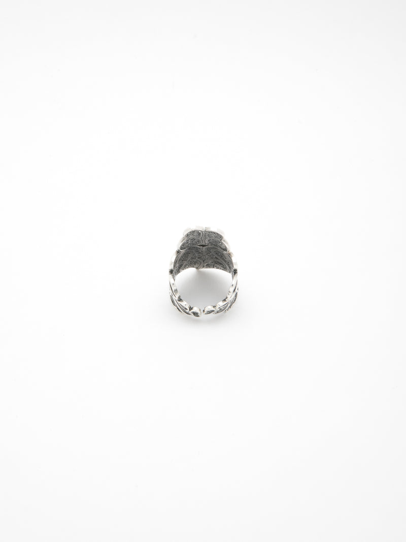 Silver Heart of Viana Open Ring