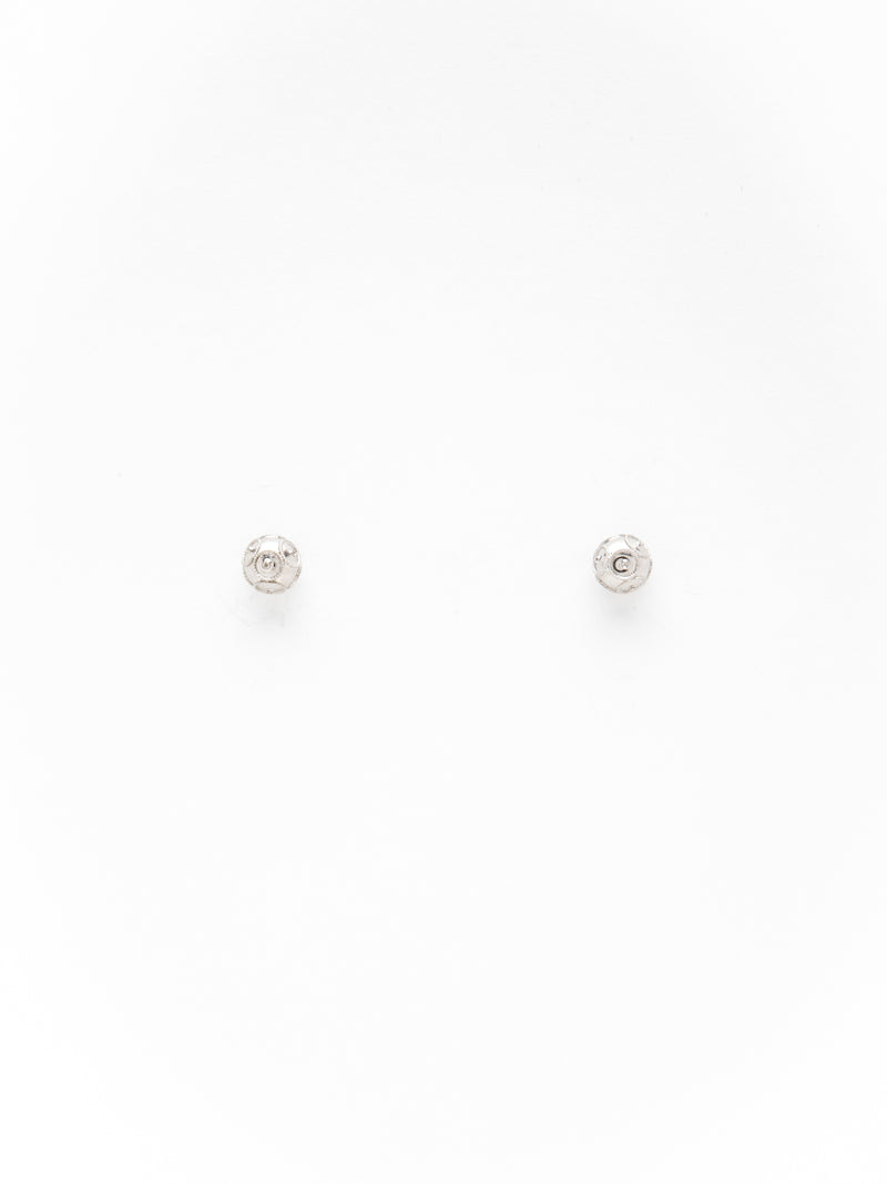 Silver Viana's Conta Hook Earrings