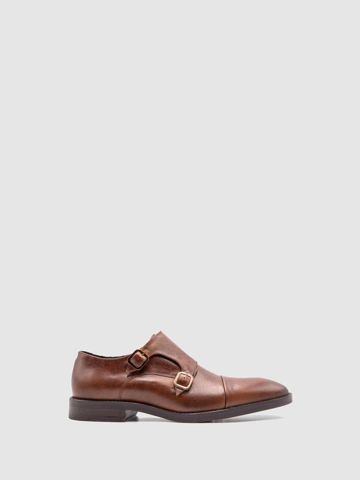 Pulser Shoes Brown Buckle Shoes