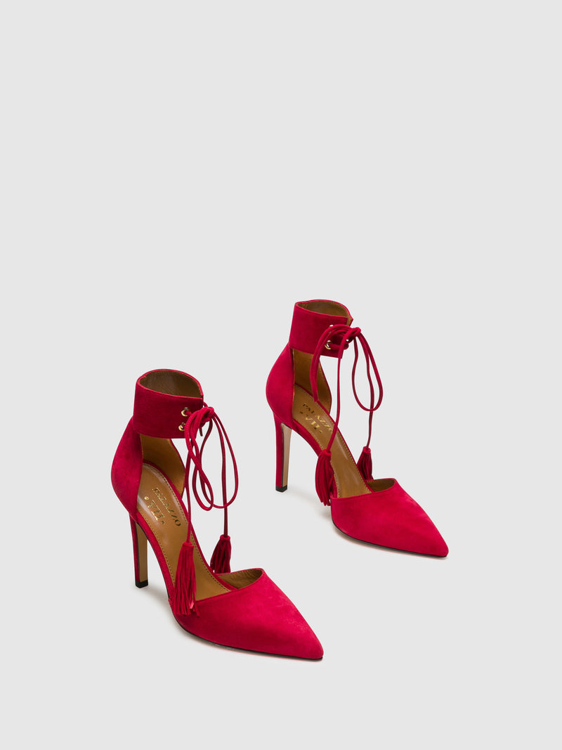 Palazzo VII Red Stiletto Shoes
