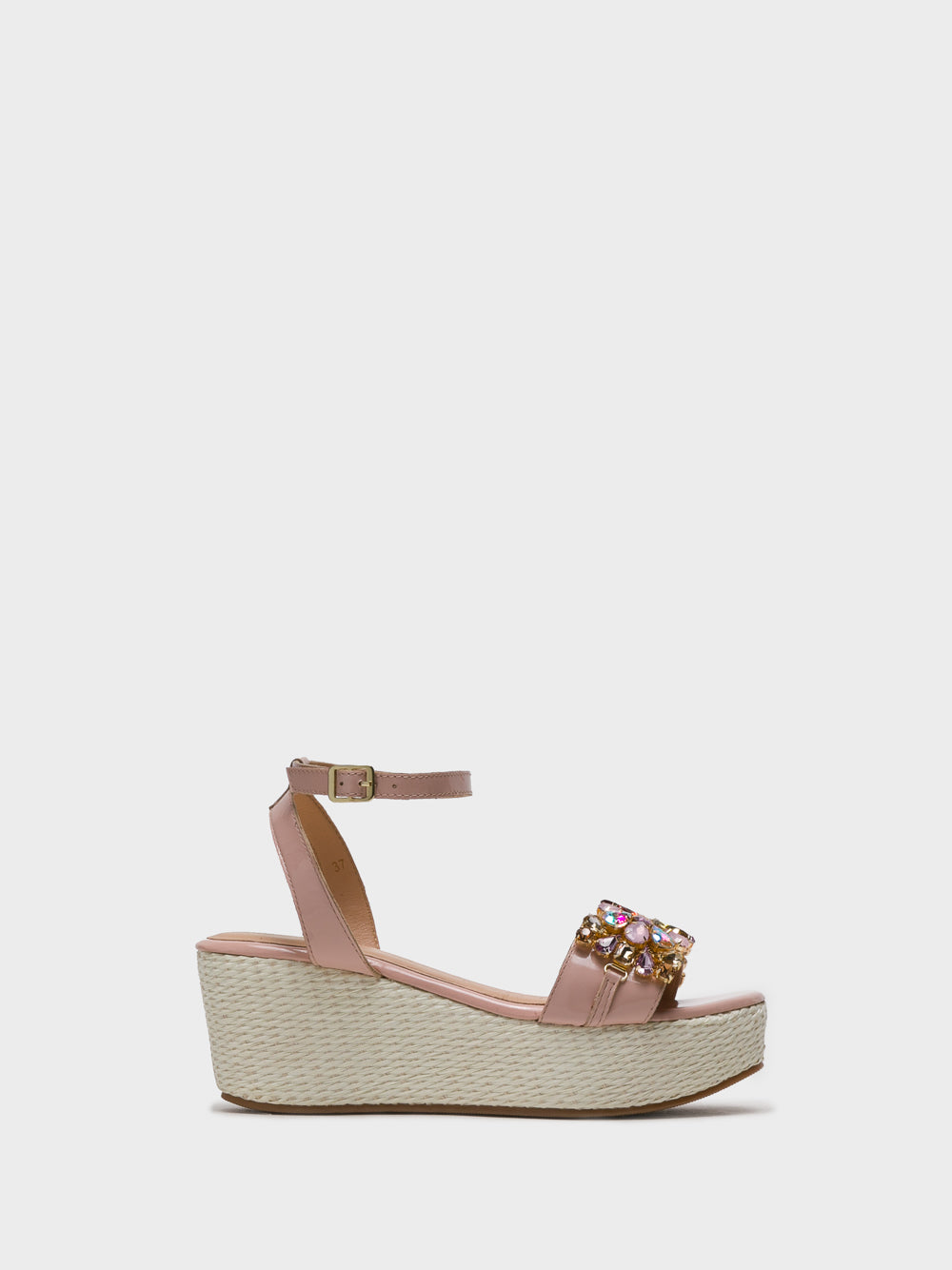 Parodi Sunshine Pink Wedge Sandals