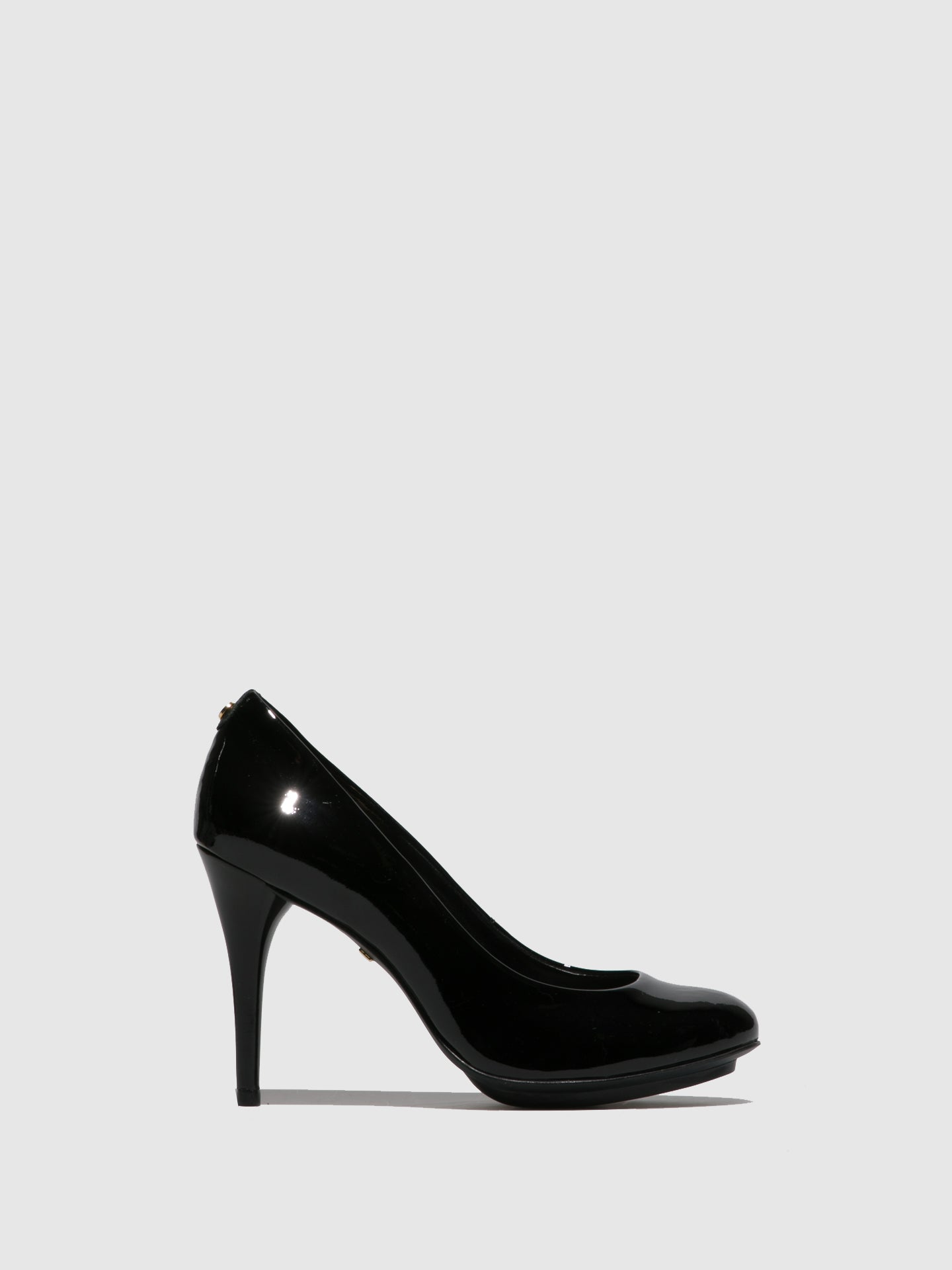 Parodi Passion Black Round Toe Shoes