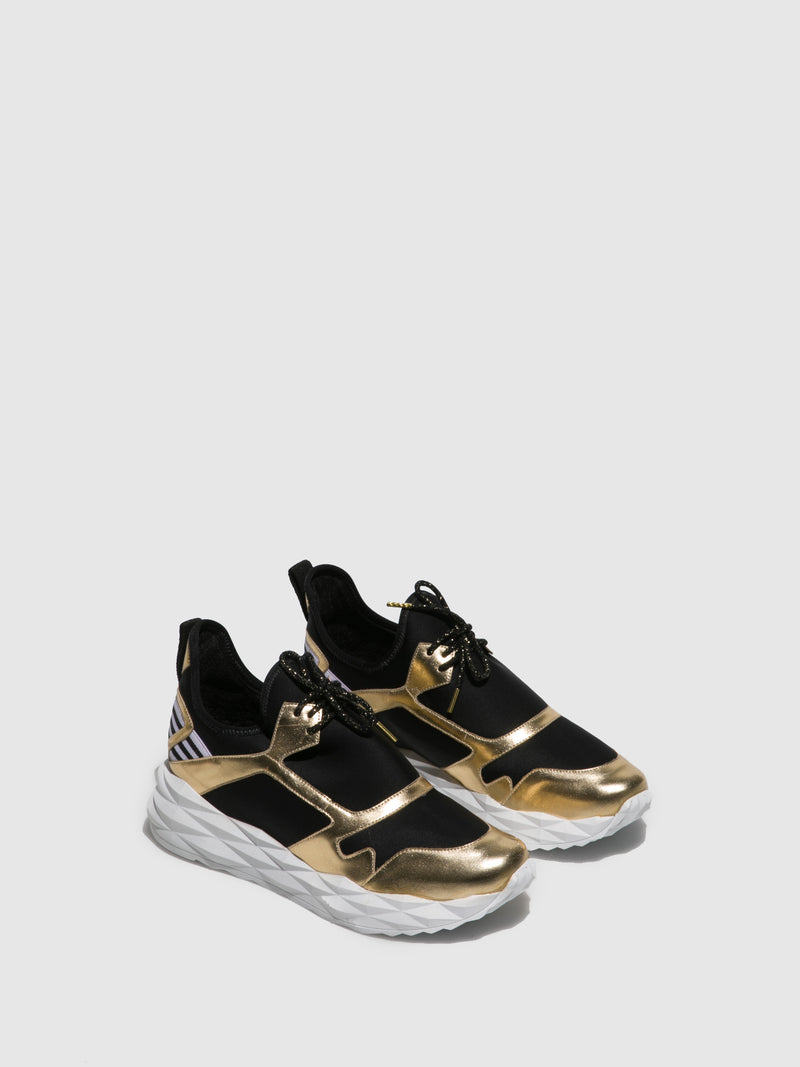 Parodi Passion Gold Black Runners