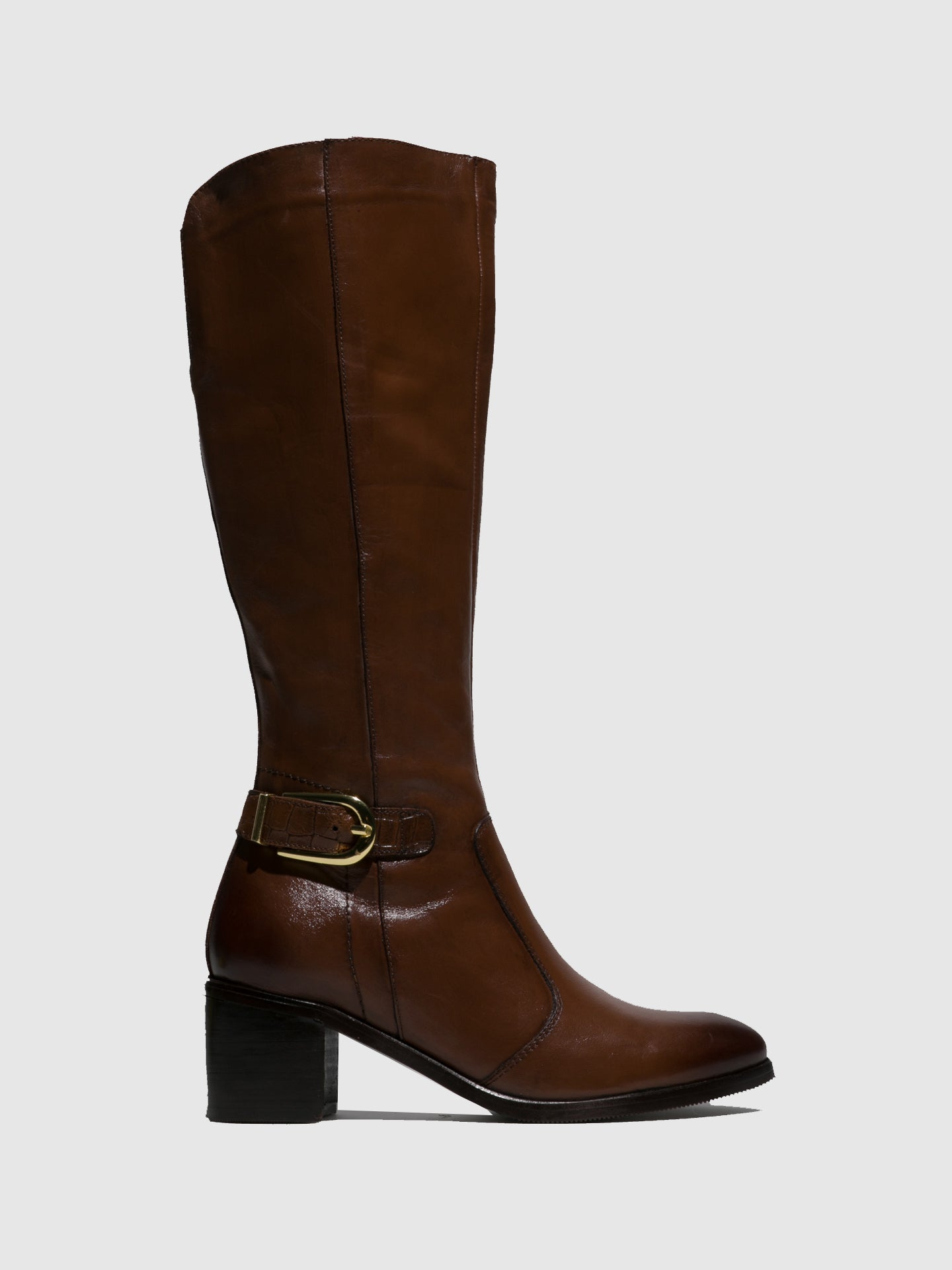 Parodi Sunshine Brown Knee-High Boots