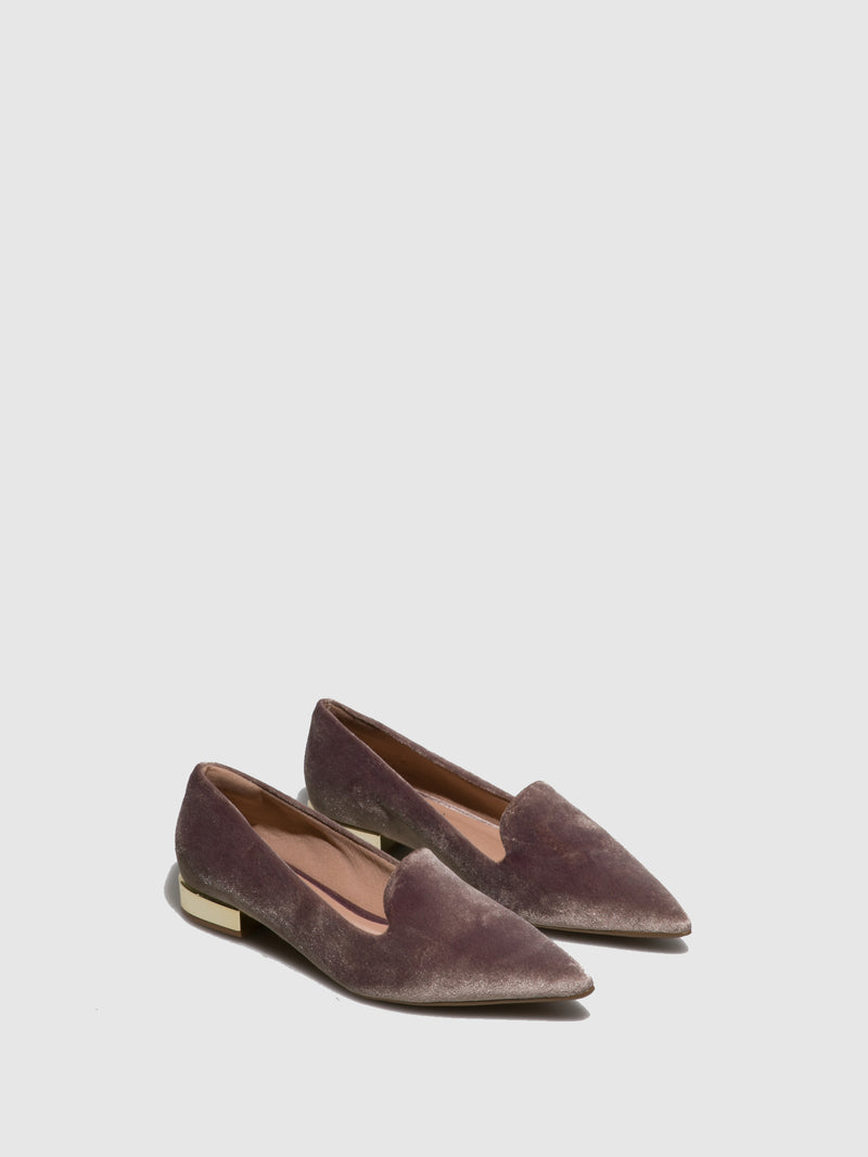 Taupe Closed Shoes