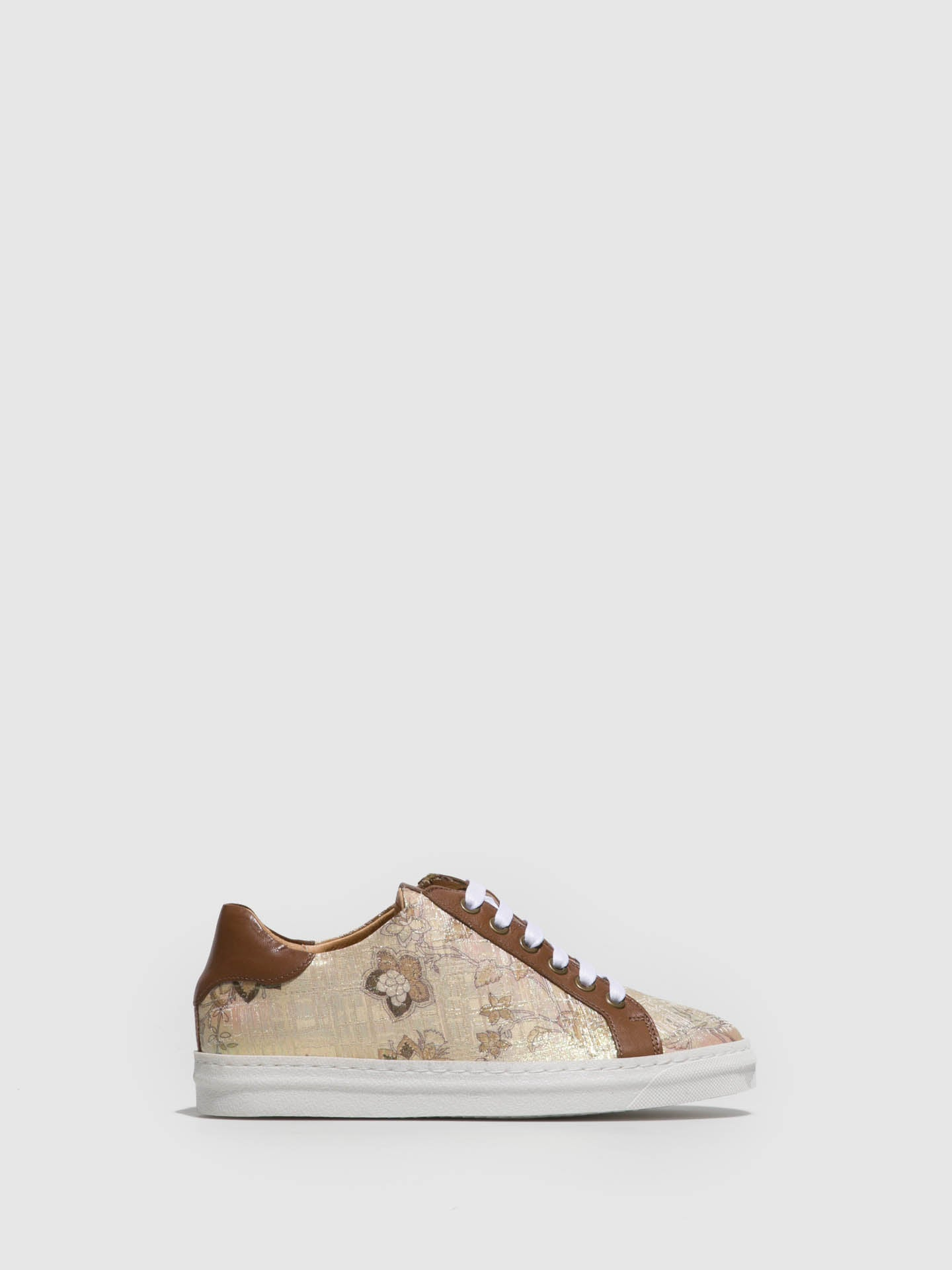 PintoDiBlu Brown Lace-up Trainers