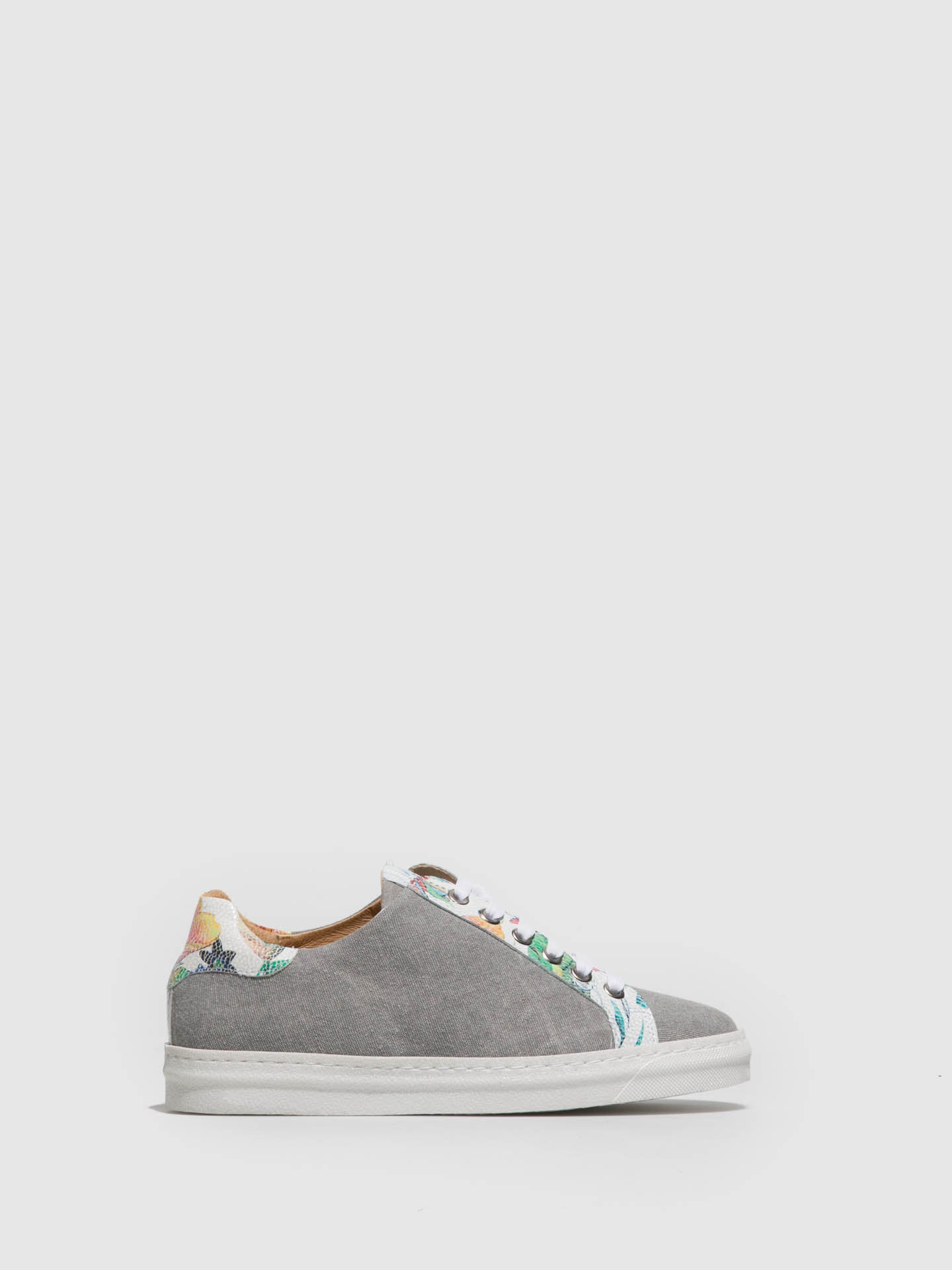 PintoDiBlu LightGray Lace-up Trainers
