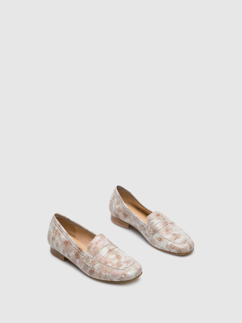 PintoDiBlu Multicolor Loafers Shoes