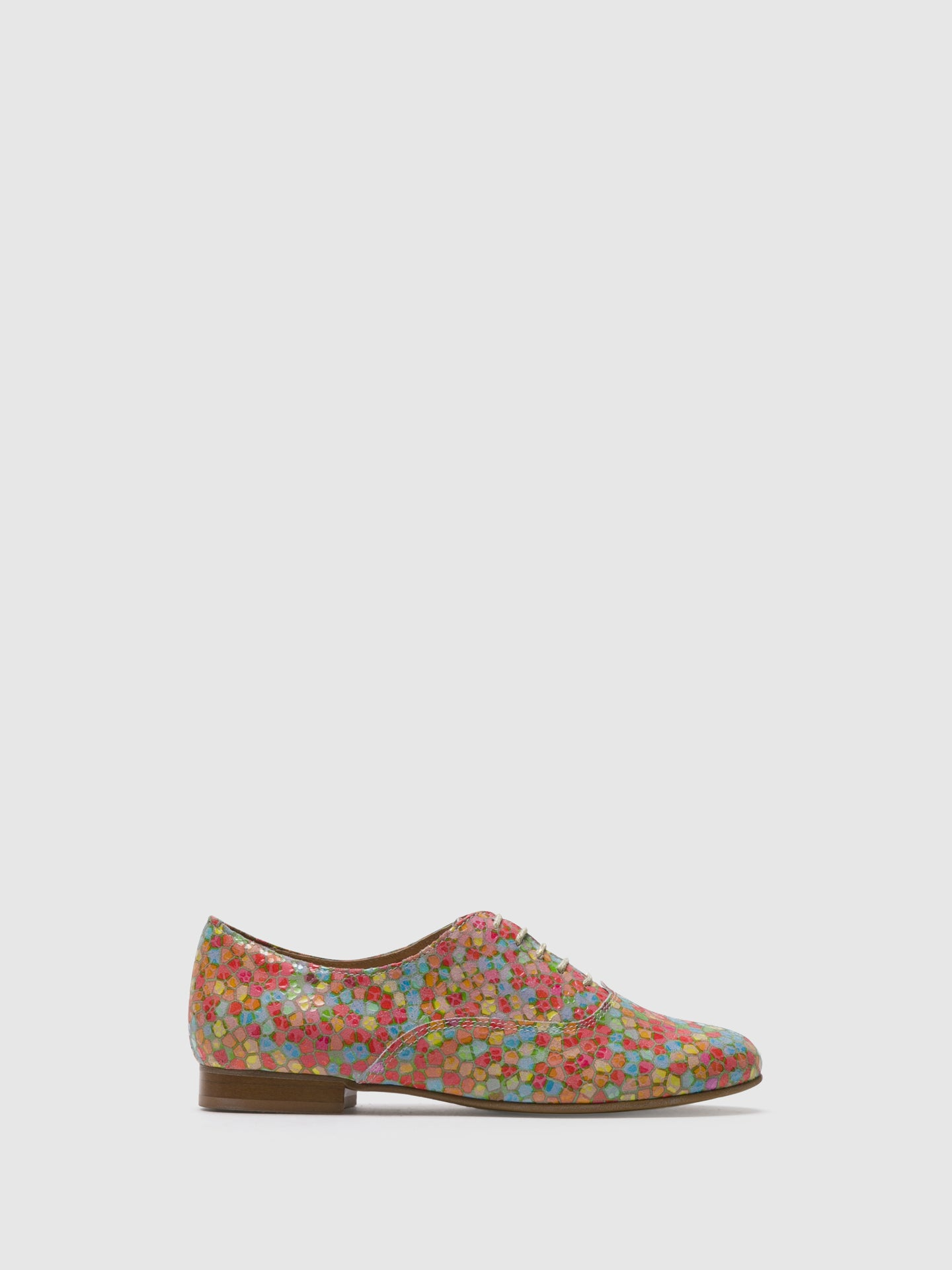 PintoDiBlu Multicolor Lace-up Shoes