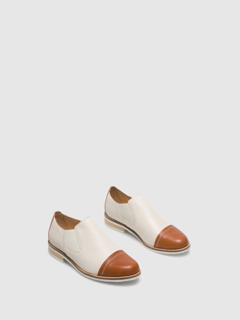 PintoDiBlu Peru White Elasticated Shoes