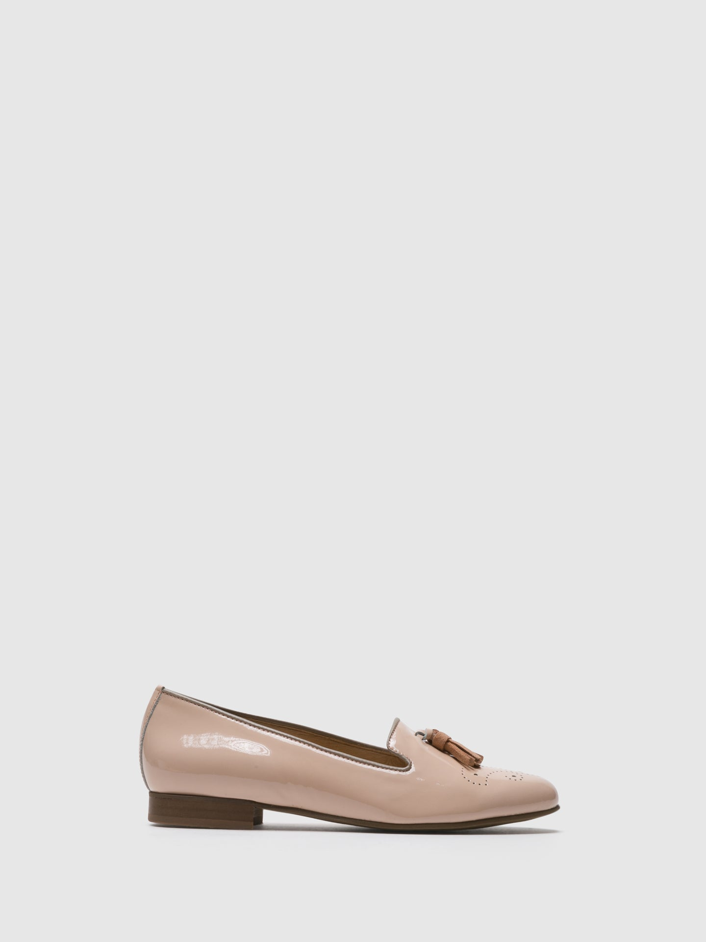 PintoDiBlu Pink Loafers Shoes