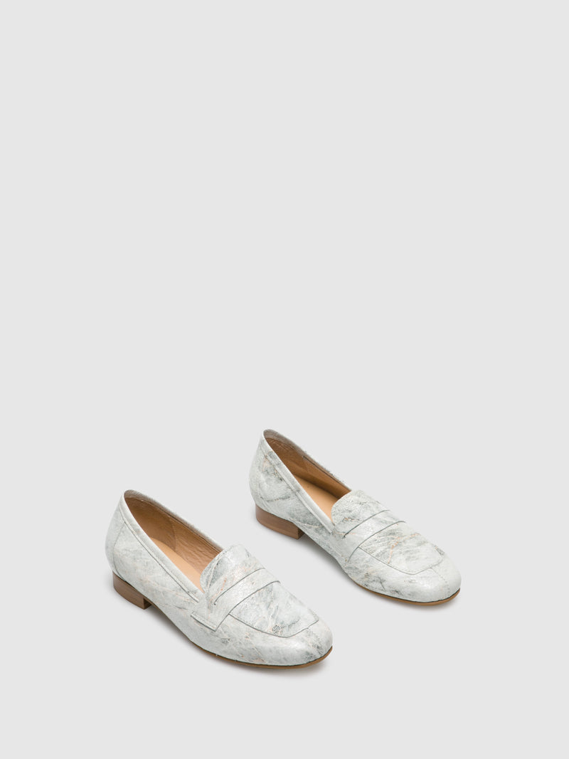 PintoDiBlu Beige Loafers Shoes