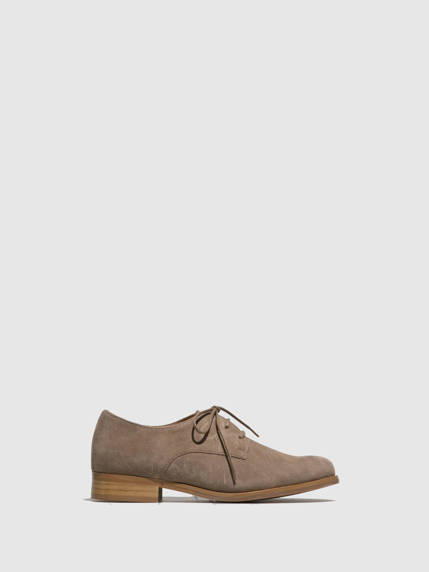 PintoDiBlu Beige Suede Lace-up Shoes