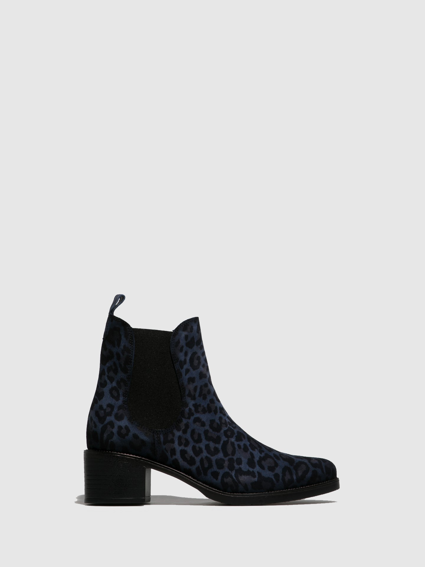 PintodiBlu Blue Elasticated Ankle Boots