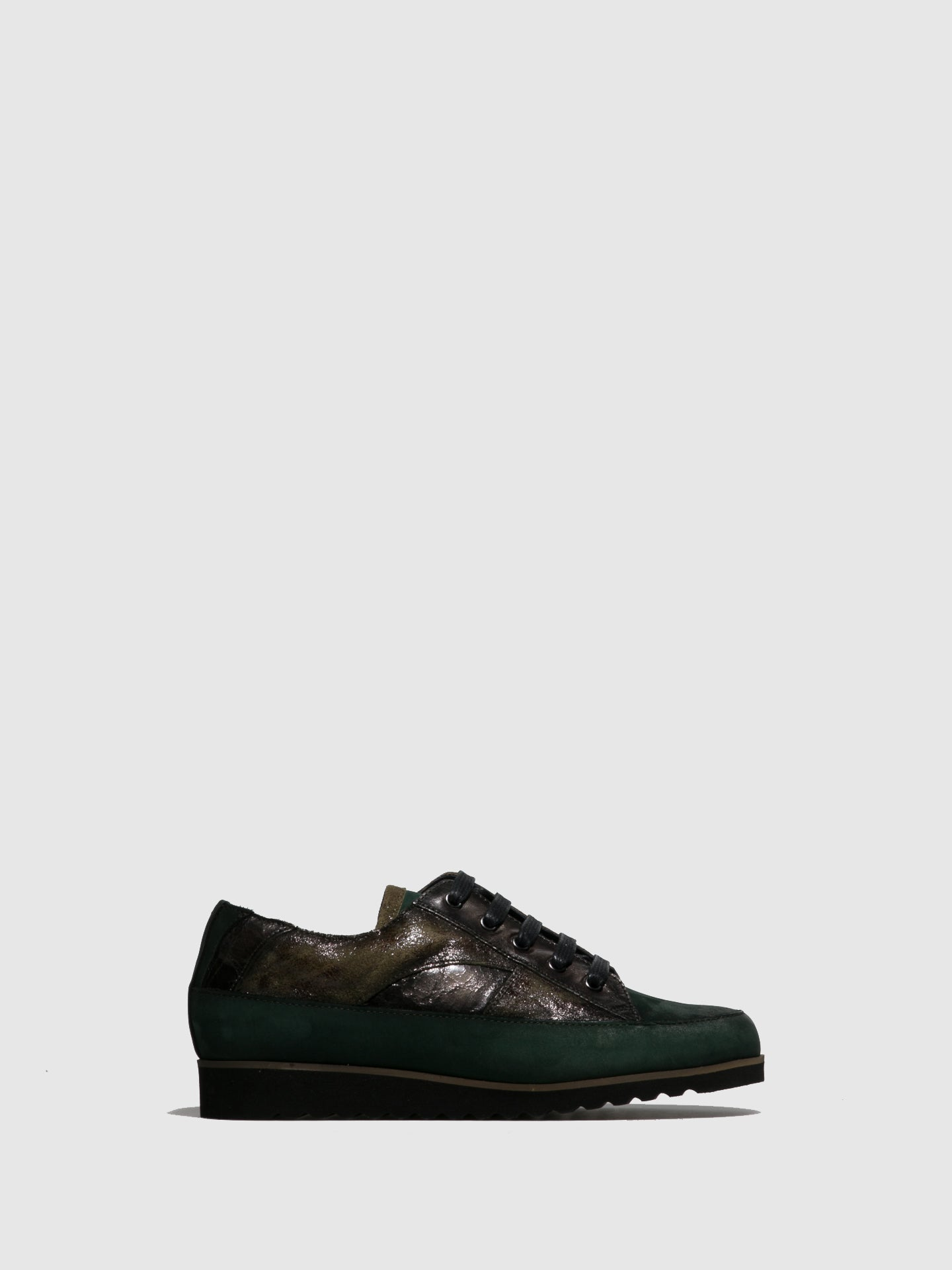 PintodiBlu Green Lace-up Trainers